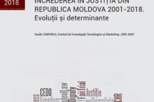 (Ro) Analytical Note: Confidence in the Justice System of the Republic of Moldova in 2001-2018. Trends and Detreminants