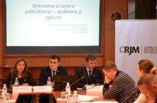 CRJM recomandă îmbunătățirea sistemului de selectare și carieră a judecătorilor