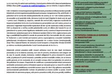 Buletin informativ Nr. 6 (aprilie-iunie 2015)