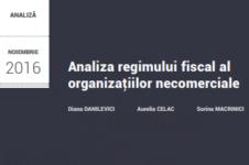 Analiza regimului fiscal al organizațiilor necomerciale