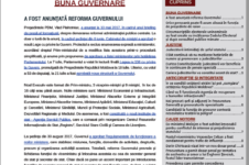 Buletin informativ Nr. 15 (iulie-septembrie 2017)