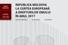 Sinteza datelor privind activitatea Curții Europene a Drepturilor Omului în anul 2017