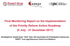 (En) Final Monitoring Report on the Implementation of the Priority Reform Action Roadmap (5 July – 31 December 2017)