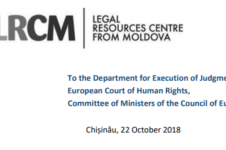 COMMUNICATION in accordance with Rule 9.2 of the Rules of the Committee of Ministers on CORSACOV v. MOLDOVA group of cases