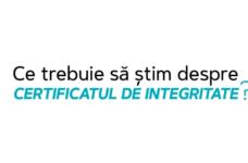Ce trebuie să știm despre certificatul de integritate?