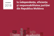 Survey/ Perception of lawyers on efficiency and responsibility of the justice in Republic of Moldova