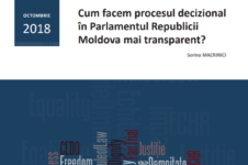 (En) How can we make the decision-making process in the parliament of the Republic of Moldova more transparent?