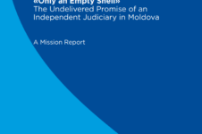 "(En) ""Only an Empty Shell"".The Undelivered Promise of an Independent Judiciary in Moldova"