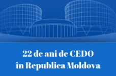22 years of ECHR in the Republic of Moldova