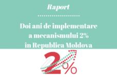 Bilanțul celui de-al doilea an de implementare a mecanismului 2%