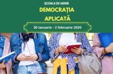 """(Ro) Start înscrierii la Școala de iarnă 2020 """"Democrația aplicată"""""""