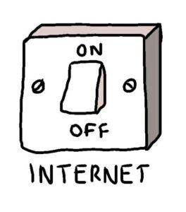 On internet